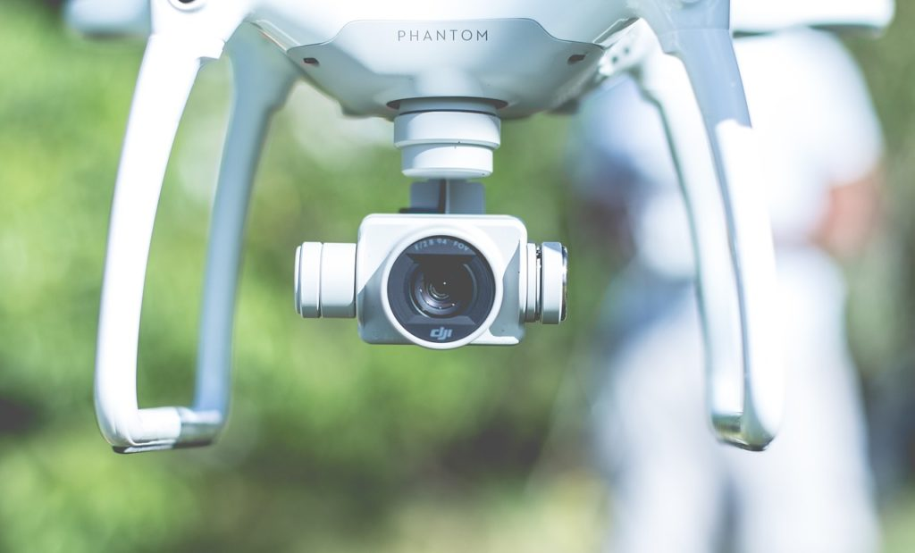drone, flying, camera
